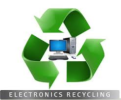Recycle electronics symbol